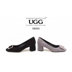 添优雅气质✔️4cm的粗跟 女士高跟鞋鞋