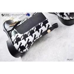 切尔西短靴 英伦千鸟格 DK322 DKUGG