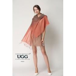 100%澳洲美利奴绵羊毛 扎染围巾 190cm*700cm