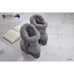 裸靴 坡跟 冬季新款 防泼水 DK307 DKUGG