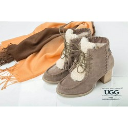雪地靴 高跟 保暖 OB281 OZWEAR