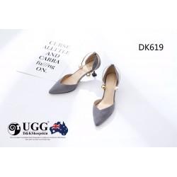 小猫跟鞋 女鞋 显瘦 防滑橡胶底 DK619 DKUGG