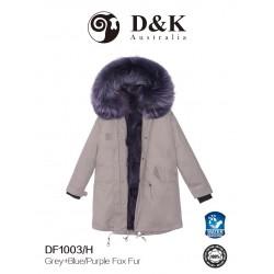 DK 冬款大衣系列 DF100 系列 狐狸毛