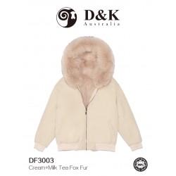 DK 冬款大衣系列 DF300 系列 狐狸毛