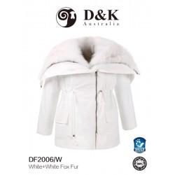 DK 冬款大衣 DF200系列  狐狸毛