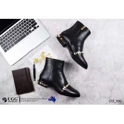 DK306 珍珠与金属脚踝靴(宋茜同款) DKUGG