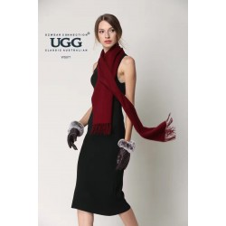 8色 纯色羊毛围巾 尺寸174cmX30cm~