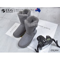 中筒雪地靴 防泼水 朴质木扣 DK004 DKUGG